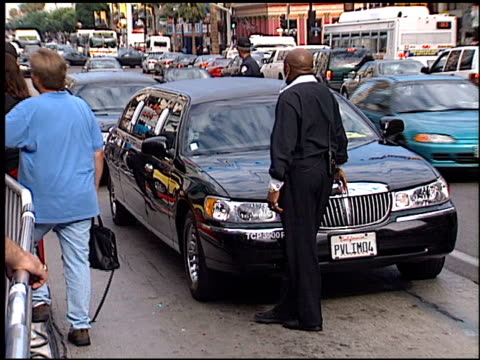 limos at the american idol finale at the kodak theatre in hollywood california on september 4 2002 - american idol stock videos and b-roll footage