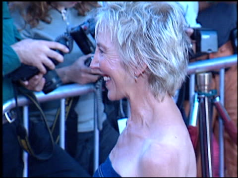 lin shaye at the 'rush hour 2' premiere at grauman's chinese theatre in hollywood, california on july 26, 2001. - ラッシュアワー 2点の映像素材/bロール