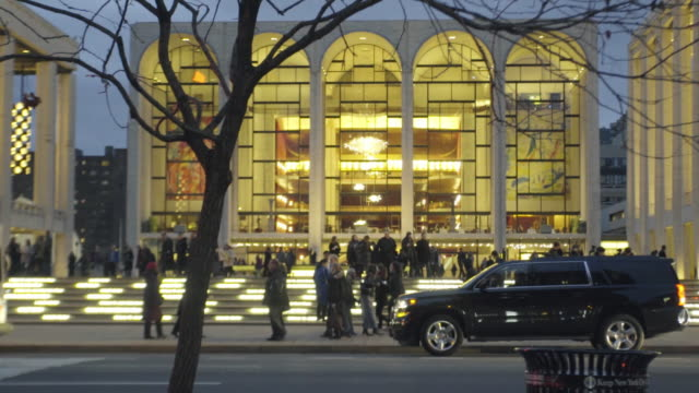 Lincoln Center - establishing shot