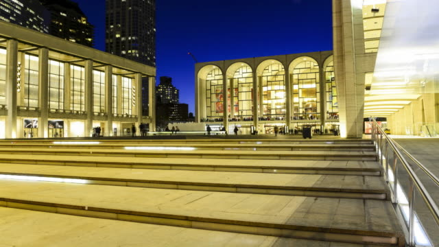 TIME LAPSE, Lincoln Center, New York City