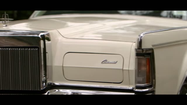 lincoln continental - front - bonnet stock videos & royalty-free footage