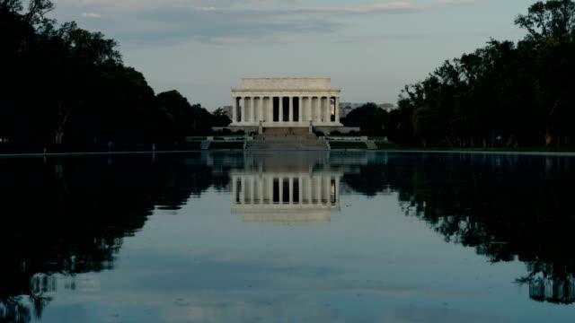 Lincoln Memorial and Reflecting Pool, Washington DC, USA