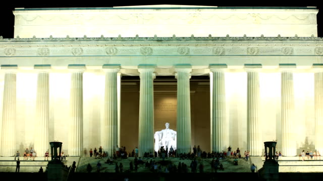 vidéos et rushes de lincoln memorial - washington monument washington dc