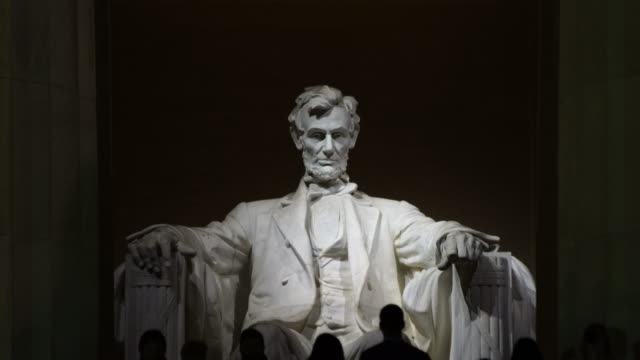 lincoln memorial, washington dc, usa. - president stock videos & royalty-free footage