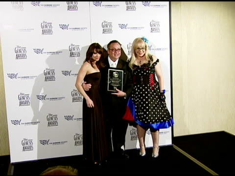 Linda Cardellini and Kristen Vangsness at the 2008 Genesis Awards at the Beverly Hilton in Beverly Hills California on March 30 2008