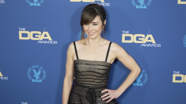 linda cardellini at the 71st annual dga awards at the ray dolby ballroom at hollywood highland center on february 02 2019 in hollywood california - director's guild of america stock videos & royalty-free footage