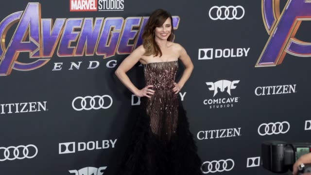 Linda Cardellini at the World Premiere of Marvel Studios' 'Avengers Endgame' at Los Angeles Convention Center on April 22 2019 in Los Angeles...