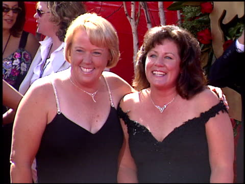 linda ruiz at the 2004 emmy awards arrival at the shrine auditorium in los angeles, california on september 19, 2004. - shrine auditorium stock videos & royalty-free footage
