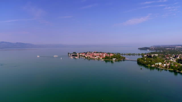 lindau on bodensee (lake constance) - river rhine stock videos & royalty-free footage