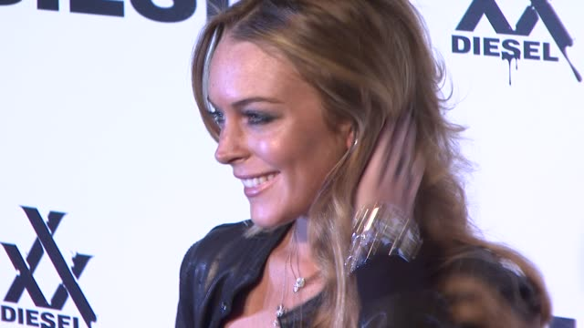 Lindsay Lohan at the Diesel xXx Rock Roll Circus New York City at Brooklyn NY