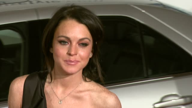 Lindsay Lohan at the GM Ten Event in Los Angeles California on February 28 2006