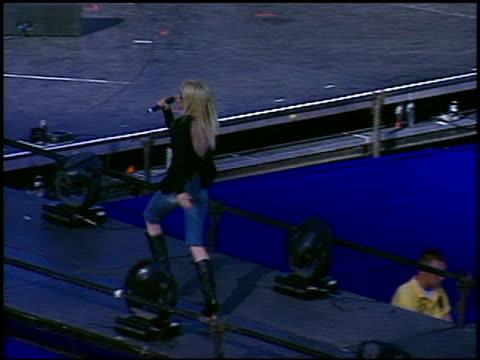Lindsay Lohan at the KIISFM's Wango Tango Concert 2005 on May 14 2005