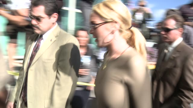Lindsay Lohan at the Lindsay Lohan Court Appearance Arrival at Los Angeles CA
