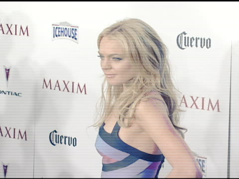 Lindsay Lohan at the Maxim's 8th Annual Hot 100 Party at Ono at The Gansevoort Hotel in New York New York on May 16 2007