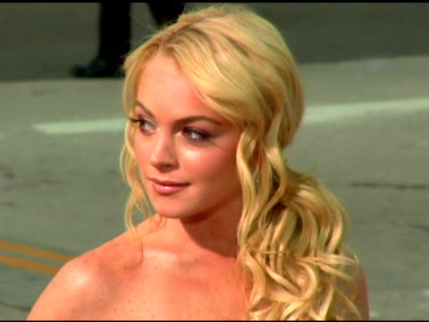 Lindsay Lohan at the 'Mr and Mrs Smith' World Premiere at the Mann Village Theatre in Westwood California on June 7 2005