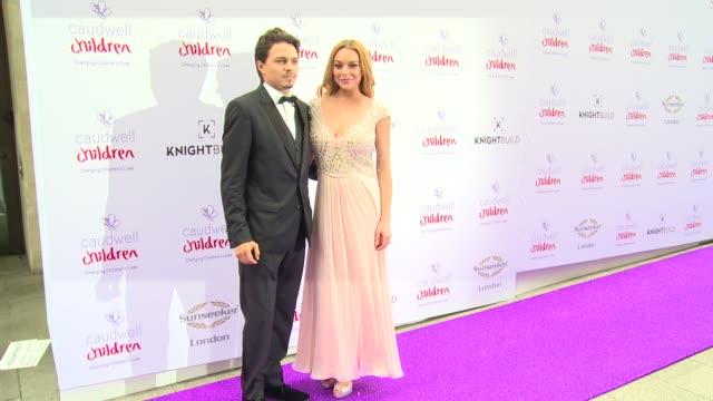 Lindsay Lohan Egor Tarabasov on June 22 2016 in London England