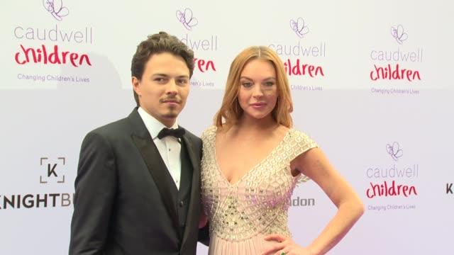 CLEAN Lindsay Lohan Egor Tarabasov Tallia Storm Danielle Armstrong Rachel Stevens Professor Green on June 22 2016 in London England