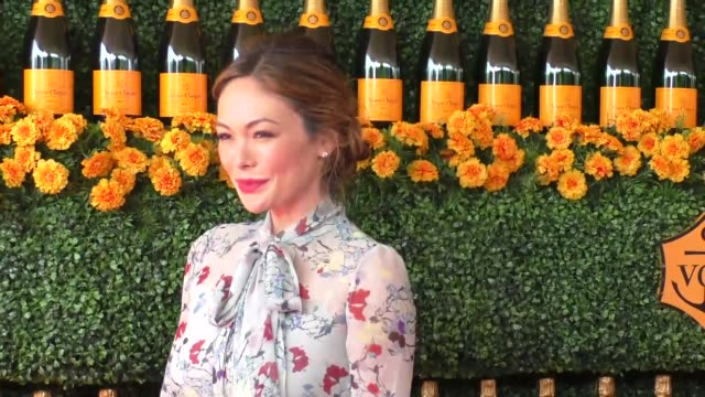 Lindsay Price at the sixth annual Veuve Clicquot Polo Classic at Will Rogers Historic State Park in Pacific Palisades at Celebrity Sightings in Los...