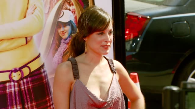 Lindsay Sloan at the 'Nancy Drew' Premiere at Grauman's Chinese Theatre in Hollywood California on June 10 2007