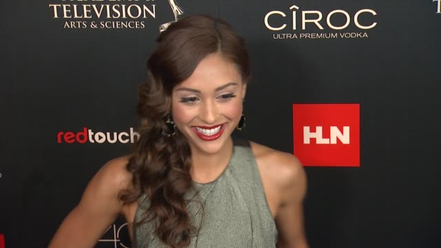 Lindsey Morgan at The 40th Annual Daytime Emmy Awards on 6/16/13 in Los Angeles CA