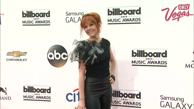 Lindsey Stirling at the 2014 Billboard Music Awards Arrivals at the MGM Grand Garden Arena on May 18 2014 in Las Vegas Nevada