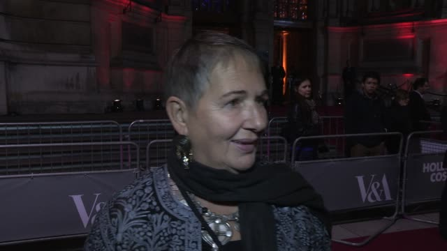 lindy hemming on designing costumes for casino royale working closely with the actors at at hollywood costume dinner at victoria albert museum on... - casino royale stock videos & royalty-free footage