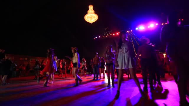 ATMOSPHERE Line Dancing at 2014 Stagecoach California's Country Music Festival on April 25 2014 in Indio California