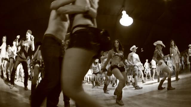 line dancing at 2014 stagecoach california's country music festival on april 25, 2014 in indio, california. - country and western stock videos & royalty-free footage