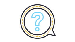 FAQ Line Icon Animation