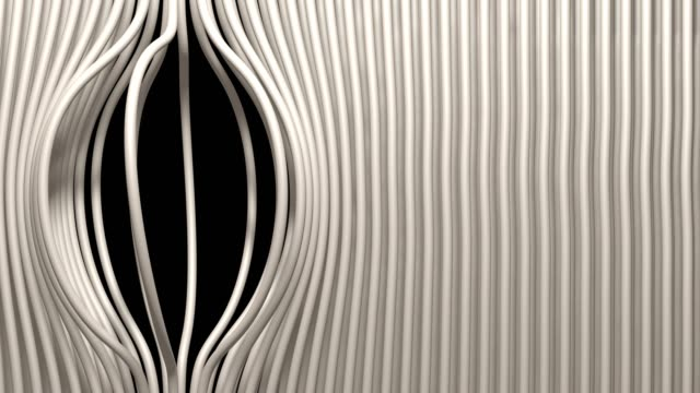 linear striped abstract curtains - flexibility stock videos & royalty-free footage