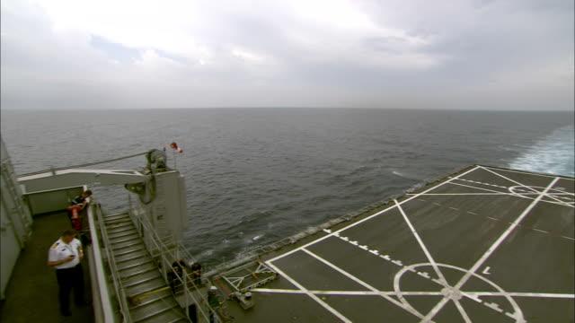 lines crisscross on a submarine deck. - crisscross stock videos & royalty-free footage