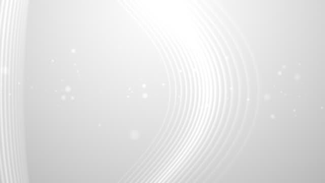 Linien Schlaganfall Mobius strip Hintergrund Loop Weiß