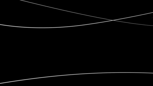 ライン(ループ) - 光 ライン点の映像素材/bロール