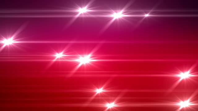 linee con brillanti stelle - elemento del design video stock e b–roll