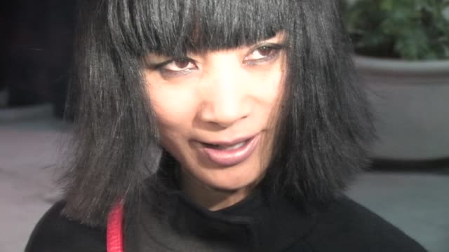 vídeos de stock, filmes e b-roll de ling bai at trousdale in west hollywood 02/14/11 at the celebrity sightings in los angeles at los angeles ca. - bai ling
