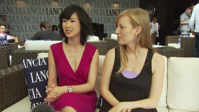 LinhDan Pham and Sarah Polley on how the film is about choices in life but that Jaco van Dormael is saying is that no matter what choice you make you...