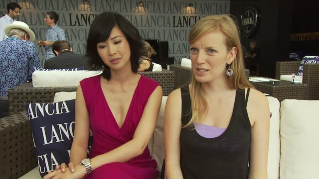 LinhDan Pham and Sarah Polley on how the project is unique as it's big budget but artistic which is rare in modern cinema at the Mr Nobody Interviews...