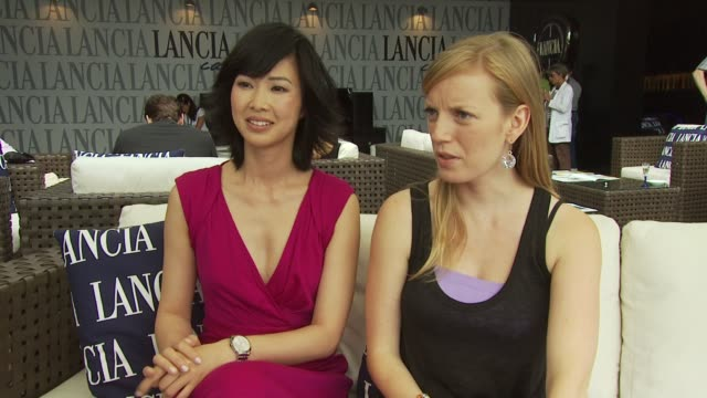 LinhDan Pham and Sarah Polley on wanting to work with Jaco van Dormael falling in love with the script and being part of the film at the Mr Nobody...
