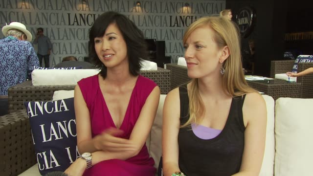 LinhDan Pham and Sarah Polley on whether they met each other on set and how they got to meet each other and how they'd like to have acted together at...