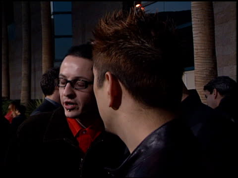 linkin park at the 2001 billboard music awards at mgm grand in las vegas nevada on december 3 2001 - linkin park stock videos and b-roll footage