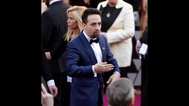 LinManuel Miranda attends the 90th Annual Academy Awards at Hollywood Highland Center on March 4 2018 in Hollywood California