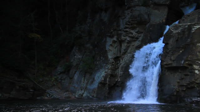 linville falls - named wilderness area stock videos & royalty-free footage