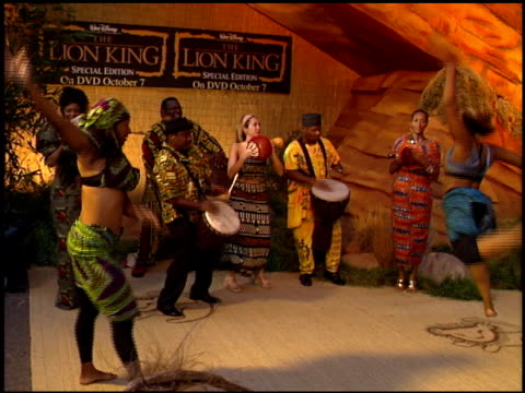 lion king the dvd release at the dvd release of 'the lion king' at the el capitan theatre in hollywood california on october 3 2002 - el capitan theatre stock videos & royalty-free footage
