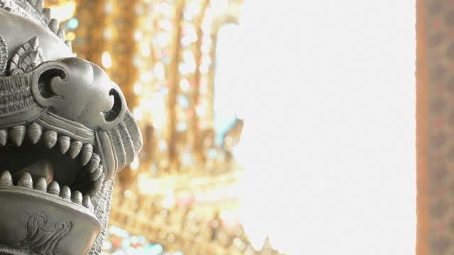 lion - bangkok stock videos & royalty-free footage