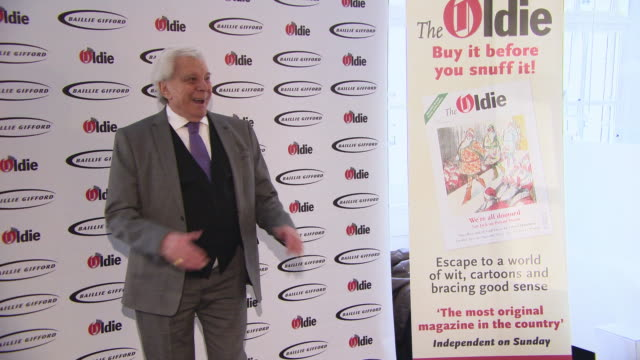 lionel blair at the oldie of the year awards on january 29, 2019 in london, england. - lionel blair stock videos & royalty-free footage