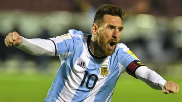 Lionel Messi scored a brilliant hat trick as Argentina sealed their place at the 2018 World Cup with a 31 victory over Ecuador in Quito on Tuesday