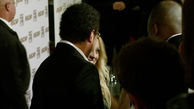 lionel richie and nicole richie at the ascap's 25th annual pop music awards at the kodak theatre in hollywood california on april 9 2008 - lionel richie stock videos & royalty-free footage