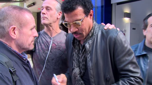 lionel richie at celebrity sightings in london on 24th september 2014 in london england - lionel richie stock videos & royalty-free footage