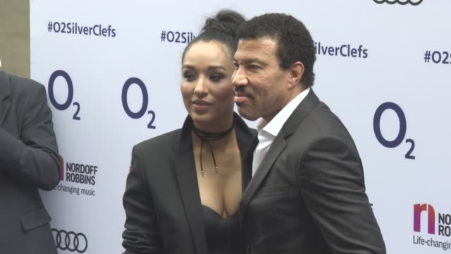 lionel richie at nordoff robbins o2 silver clef awards at grosvenor house on july 01 2016 in london england - lionel richie stock videos & royalty-free footage
