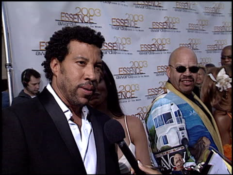 lionel richie at the 2003 essence awards at the kodak theatre in hollywood california on june 6 2003 - lionel richie stock videos & royalty-free footage